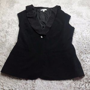 Cabi Black Dinner Vest Style 917 Size 8 Lined